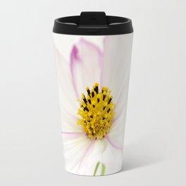 Sensation Cosmos White Bloom Travel Mug
