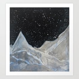 Nuit Etoilée Art Print