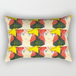 West & The Pledge Rectangular Pillow