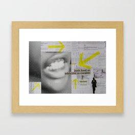 Addictive Rush Framed Art Print
