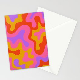 Standing on the edge Stationery Cards