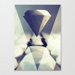 Diamond Rise Canvas Print