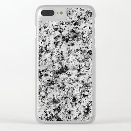 Speckled Marble Clear iPhone Case