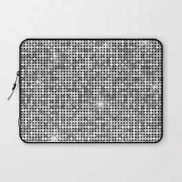 Shiny Disco Ball Silver Laptop Sleeve