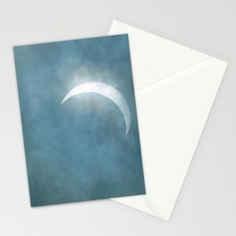 Cloudy Eclipse Stationery Cards