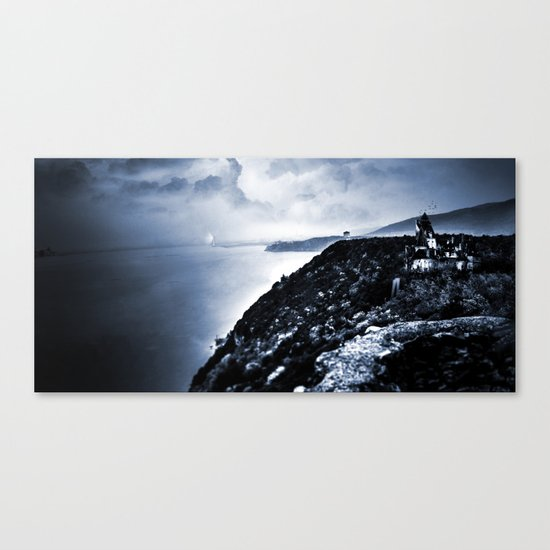 Night of the Vampire Canvas Print