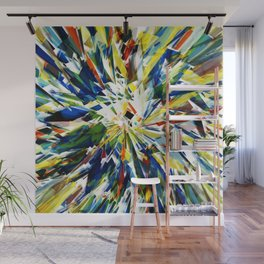 Exploding shards Wall Mural