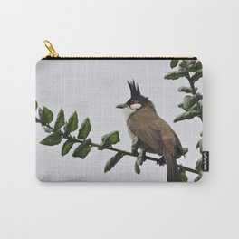 Red-Whiskered Bulbul Carry-All Pouch