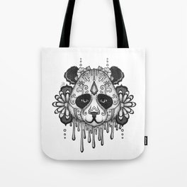 Blacksilver Panda Spirit Tote Bag