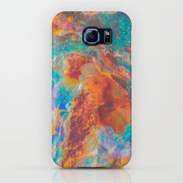 Galaxy Colorful Opal Agate Stone iPhone Case