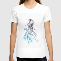 frozen elsa T-shirts featuring Frozen Elsa by Jeanette Perlie