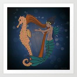Ocean Lullaby1 Art Print