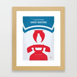 No104 My Ghostbusters MMP Framed Art Print
