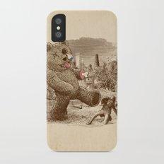 Teddy's Back! iPhone X Slim Case