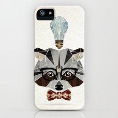 raccoon nerd Slim Case iPhone SE