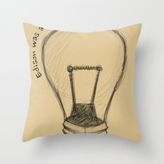 The Lord works in mysterious ways Throw Pillow