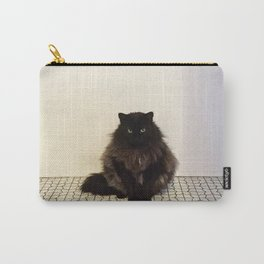 A Lone Cat  Carry-All Pouch