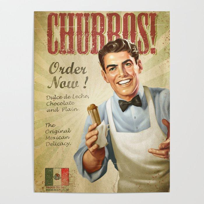 CHURROS Poster
