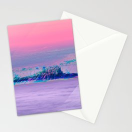 Vaporwave Summit Stationery Cards
