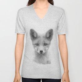 Baby Fox Unisex V-Neck