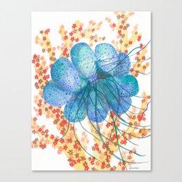 Bubble Jelly Canvas Print