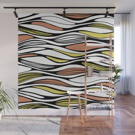 Soft waves Wall Mural