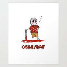 Casual Friday Art Print