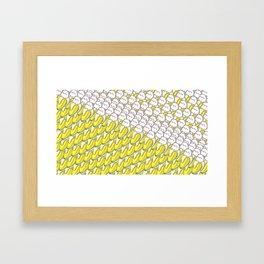 Banana Cat Bananya T-Shirt Framed Art Print