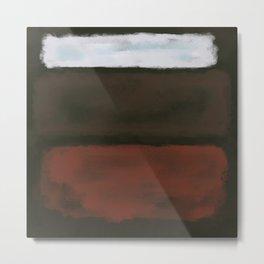 Rothko Inspired #16 Metal Print