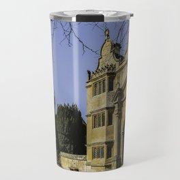Cotswold Gatehouse & Church. Travel Mug