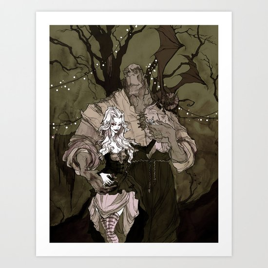 The Performers Art Print