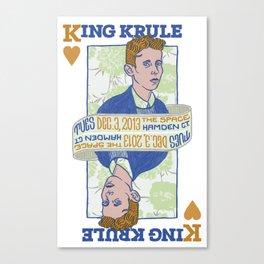 King Krule Canvas Print