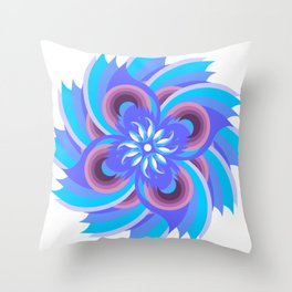 Flower of the Cerrado by Freddi Jr Throw Pillow