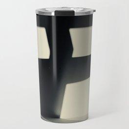 German Expressionism Experiment Abstract Shadows Travel Mug