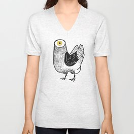Your Meat Knows… Unisex V-Neck