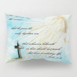 For God so Loved the World Pillow Sham