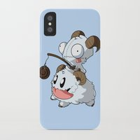invader zim iPhone & iPod Cases featuring Invader Poro by HelloTwinsies