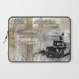 Vintage London Laptop Sleeve