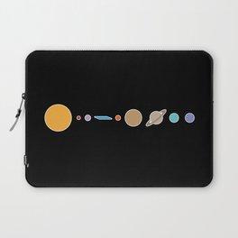 Flat Earth Conspiracy Theory Humor Laptop Sleeve