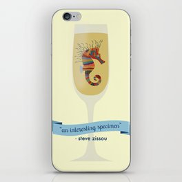 crayon ponyfish iPhone Skin