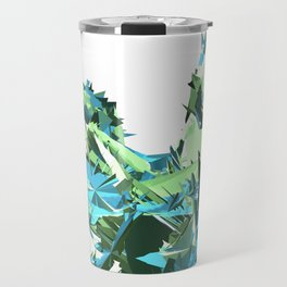 Glitchy Oceanscape (Pretty 14) Travel Mug