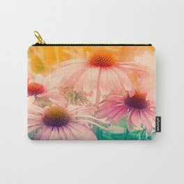 Happy Summerflowers Pastell Carry-All Pouch