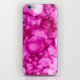 Abstract Bubblegum Pink iPhone Skin