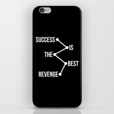 Success is the Best Revenge Light iPhone & iPod Skin