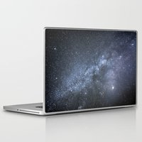 milky way Laptop & iPad Skins featuring Milky Way by Astrophotos by McLeod