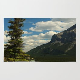 Bow River Valley Banff Rug