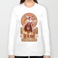 digimon Long Sleeve T-shirts featuring Digimon Cards: Sora  by Dralamy