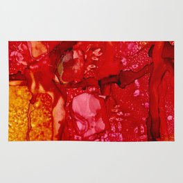 Red Cliff Boulders Rug