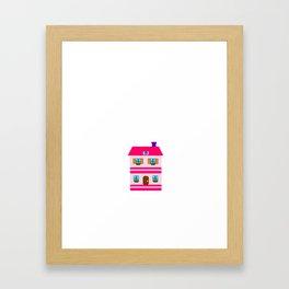 Addicted to Dollhouses Toys Dolls Fantasy Framed Art Print