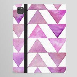Rose Triangles iPad Folio Case